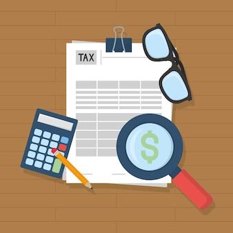Ilustracja faktur podatkowych