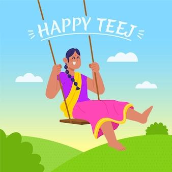 Ilustracja festiwalu teej