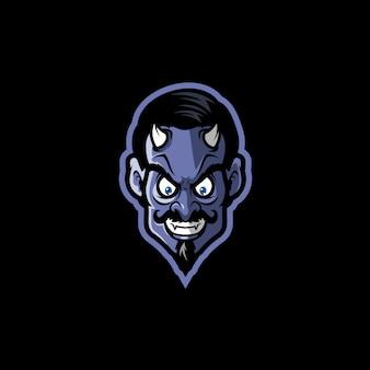 Ilustracja głowa diabła