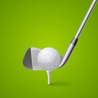 Ilustracja golfa