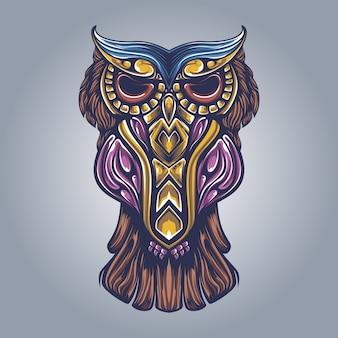 Ilustracja grafika dekoracyjna oel