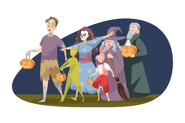 Ilustracja halloween