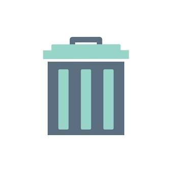 Ilustracja ikony kosza