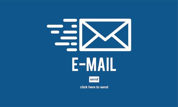 Ilustracja ikony poczty