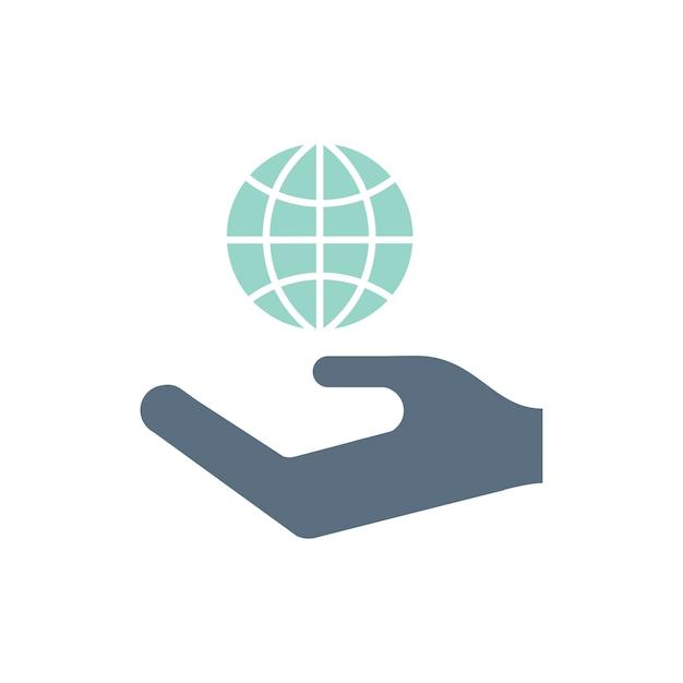 Ilustracja ikony wsparcia środowiska
