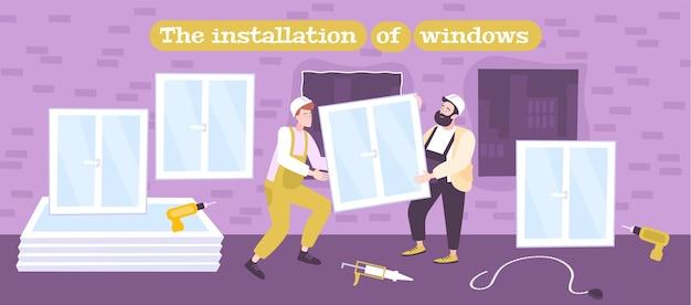 Ilustracja instalacji systemu windows