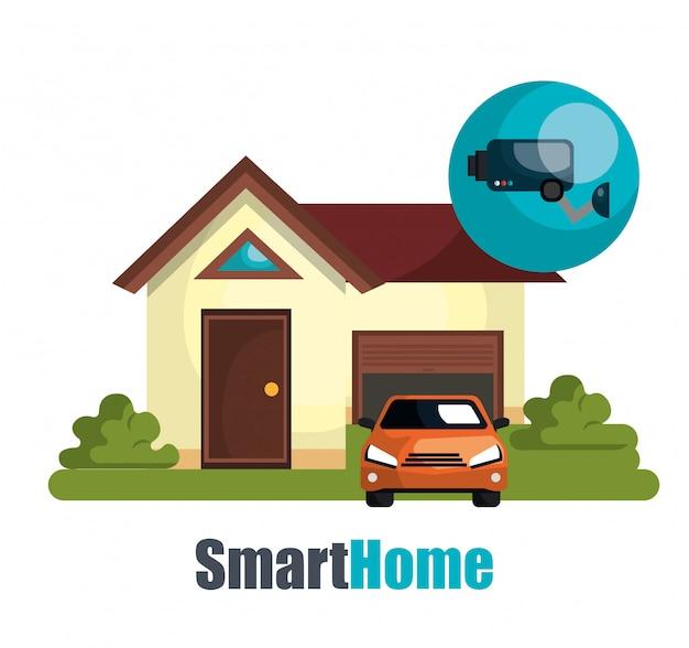 Ilustracja inteligentnego domu