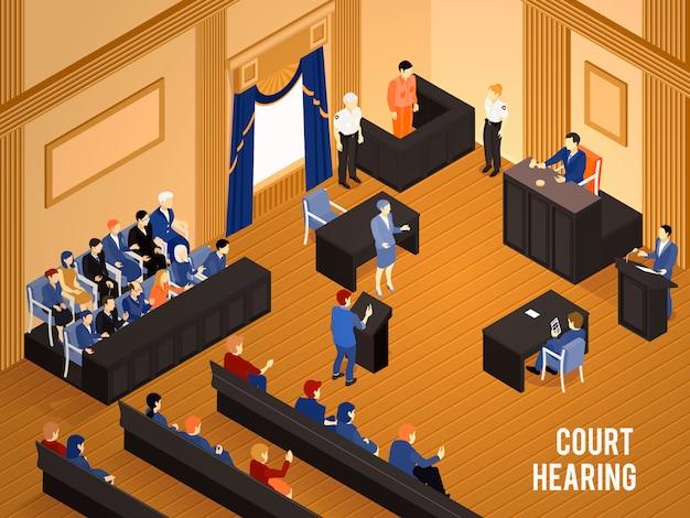 Ilustracja izometryczna prawa