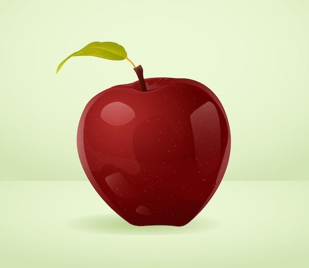 Ilustracja jabłka