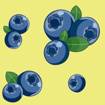 Ilustracja jagód