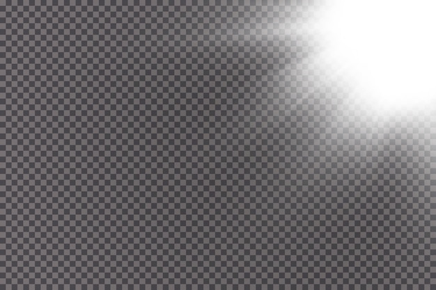 Ilustracja jasny efekt świetlny