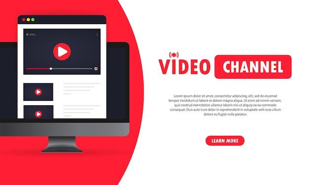 Ilustracja kanału wideo