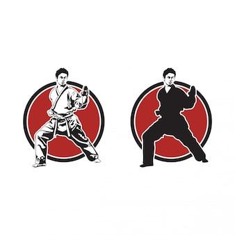 Ilustracja karate