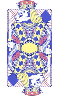 Ilustracja karty króla