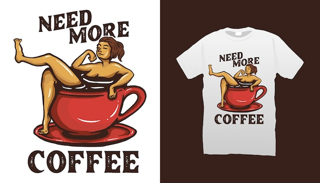 Ilustracja kawy
