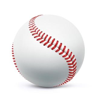 Ilustracja klasycznego baseballu ze skóry.
