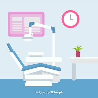 Ilustracja kliniki stomatologicznej