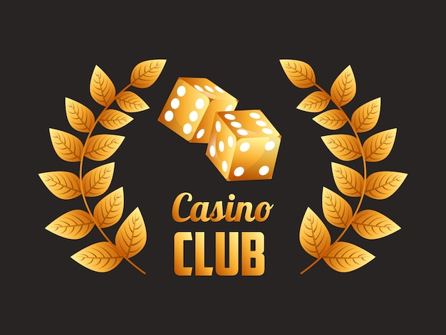 Ilustracja klub kasynowy