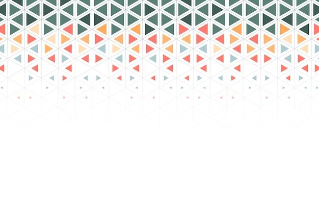 Ilustracja kolorowy trójkąt