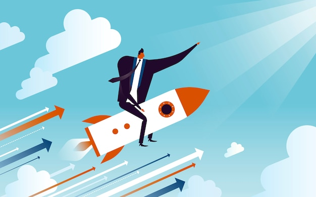 Ilustracja koncepcja biznesowa