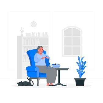 Ilustracja koncepcja dziania