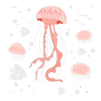 Ilustracja koncepcja meduzy
