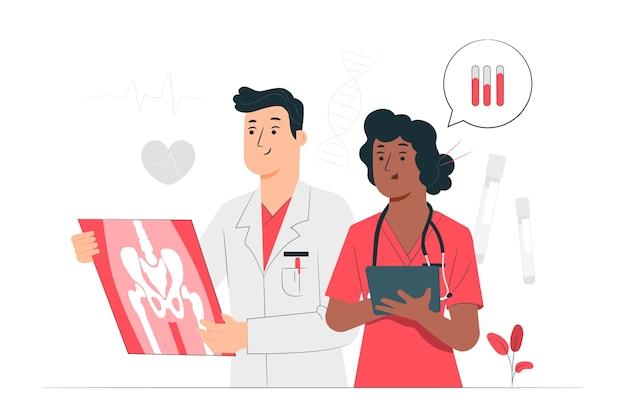 Ilustracja koncepcja medycyny