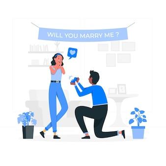 Ilustracja koncepcja propozycji