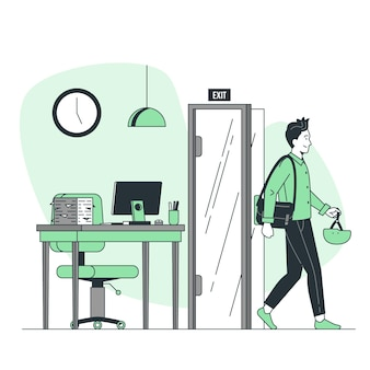 Ilustracja koncepcja rzucić czas