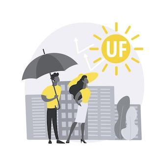 Ilustracja koncepcja streszczenie promieniowania ultrafioletowego.