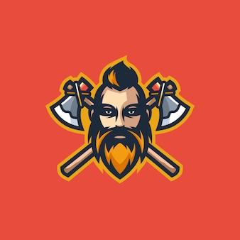 Ilustracja koncepcja viking