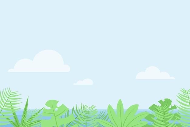Ilustracja koncepcja wakacje płaski wektor.