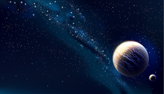 Ilustracja koncepcja wszechświata