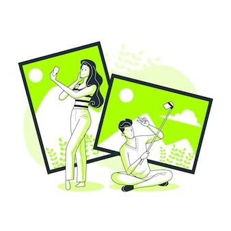 Ilustracja koncepcja zdjęcie