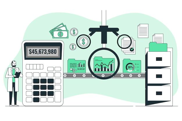 Ilustracja koncepcji audytu