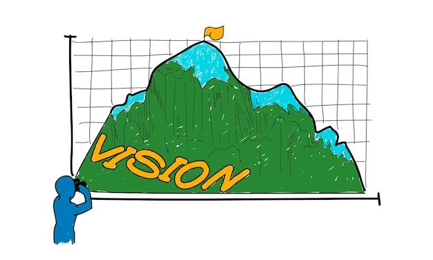 Ilustracja koncepcji biznesowej