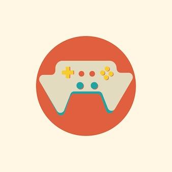 Ilustracja konsoli do gier wektor