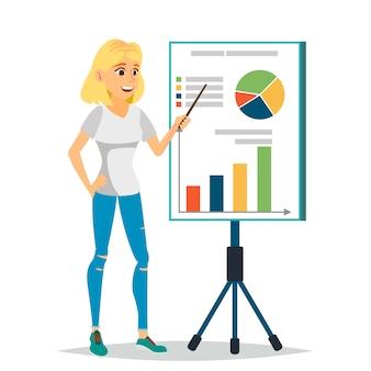 Ilustracja konsultanta finansowego