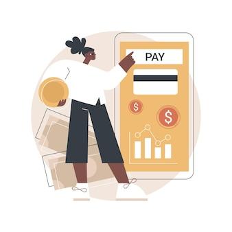 Ilustracja konta bankowego