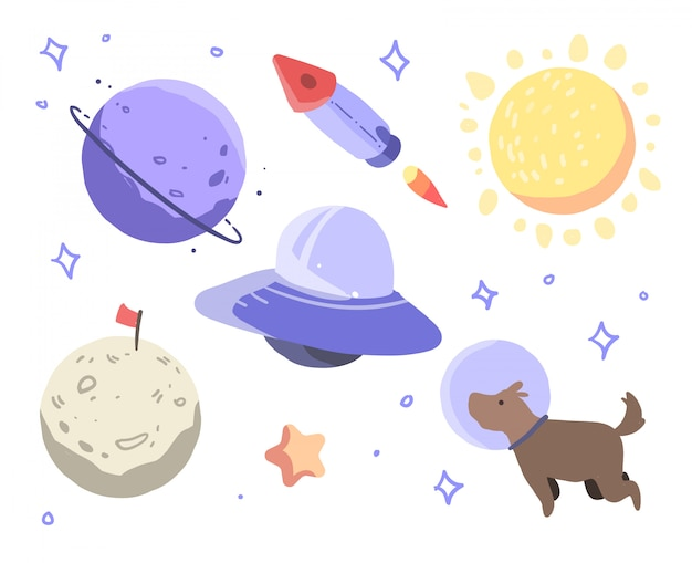 Ilustracja kosmosu
