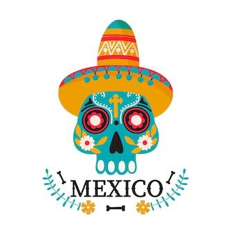 Ilustracja kraju meksyku.