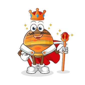 Ilustracja króla jowisza