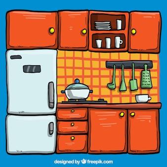 Ilustracja kuchni