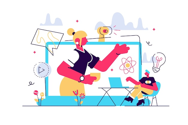 Ilustracja kursu e-learningowego