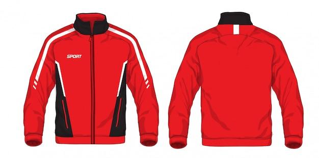 Ilustracja kurtki sportowej.