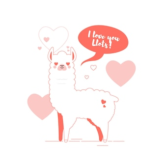 Ilustracja lamy