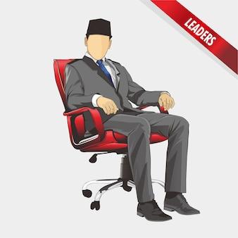 Ilustracja lidera