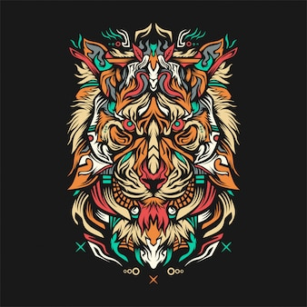 Ilustracja lionza
