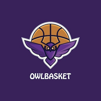 Ilustracja logo e-sportu sowy