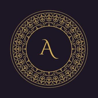 Ilustracja logo mandala